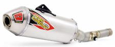 Pro Circuit T-6 Stainless Slip-On Exhaust-Suzuki-RMZ 450-10-17 -  Dirtbike Exhau