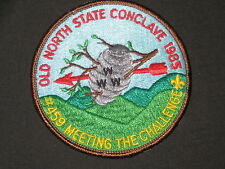 SE-7 1985 Old North State Conclave Pocket Patch         c36