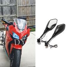 Matte Black Motorcycle Turn Signal Light Mirrors For Honda CBR1000RR 2006 2008