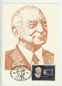 1983 , Romania , Henri Coanda , airplane and engine manufacturer , maxicard