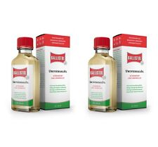 2x 50ml Ballistol Universal Multi Purpose Lubricant Gun Cleaner Maintenance OIL