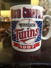 1987 Minnesota Twins World Champions Ceramic Coffee Mug-Mlb License By Papel
