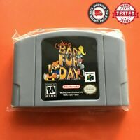 Conker's Bad Fur Day Video Game Cartridge Console Card For Nintendo N64 NTSC/PAL