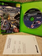 Quantum Redshift - Original Xbox Game Complete with Book and Warranty Card. Fast