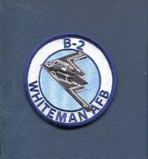 NORTHROP B-2 SPIRIT WHITEMAN AFB USAF BS Stealth Bomber Squadron Patch