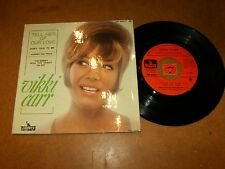 VIKKI CARR - EP FRENCH LIBERTY 2234  / LISTEN - GIRL BEAT POPCORN