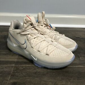 Nike LeBron XVII 17 Low 'Easter' Cream White Sneaker Men's Size 9.5 CD5007-200