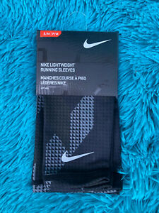 Nike Lightweight Running Arm Sleeves [NRSD8062SM] Size S/M 1 Pair S1