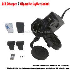 USB Charger Cigarette Lighter Socket Fit Honda VTX 1300 C R S RETRO VT1300