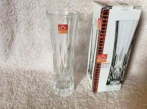 "RCR Opera 7.5"" Crystal Glass Vase"