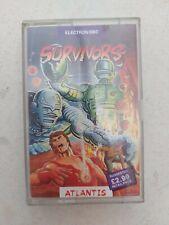 60645 Survivors - BBC Electron (1987) AT 602X cassette tape computer game