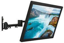 """LCD TV Wall Mount Bracket Swing Out Tilt Swivel Flat Screen 23"""" to 42"""" RV"""