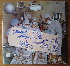 THREE DOG NIGHT SIGNED  by 5 hard labor Vinyl LP RECORD RARE