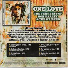 "BOB MARLEY ""ONE LOVE LO MEJOR DE BOB MARLEY & WAILERS"" SPANISH PROMO CD SAMPLER"