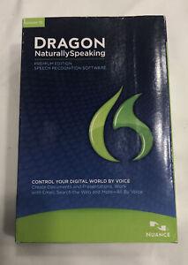 Nuance Dragon NaturallySpeaking 12 Premium Windows w/ Microphone Factory Sealed