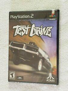 Test Drive (Playstation 2, PS2) New Sealed Black Label 1st Print Near Mint!