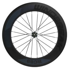 700C 88mm Carbon Wheelset Road Bike Clincher Bicycle Windbreak Rear Wheel Only