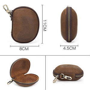 Leather Storage Box Protective Case Bag Clasps For Folding Sunglasses Glasses