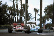 Jochen Rindt Lotus Monaco Grand Prix 1970 Photograph