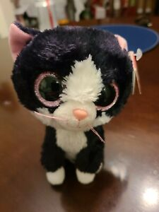 "TY Beanie Boo's PEPPER Cat ~ 6"", with TY and Birth Date Tag, Great Condition"
