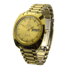 OMEGA GENEVE F330HZ ELECTRONIC GOLD PLATED VINTAGE WRISTWATCH DATING CIRCA 1971