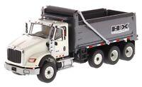 1/50 Scale International HX620 Dump truck White Diecast Masters DM710131
