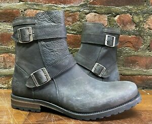 Harley-Davidson Men's Fashion Casual Motorcycle Boots D93502 Size 9 Dark Grey