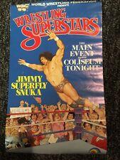 Vintage WWF LJN Wrestling Superstars Jimmy Superfly Snuka Original Poster