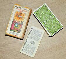 Tarot divinatoire 78 cartes GRAND ETTEILLA - avec notice