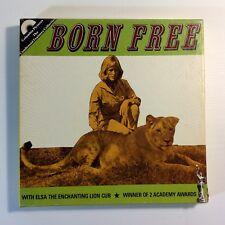 Vintage 8mm Super 8 Sound Movie BORN FREE