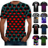 Hypnosis Swirl 3D T-Shirt Print Mens Womens Casual Short Sleeve Graphic Tee Tops