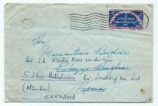 STORIA POSTALE 1951 REPUBBLICA PATTO ATLANTICO 60 LIRE SU BUSTA D/8143