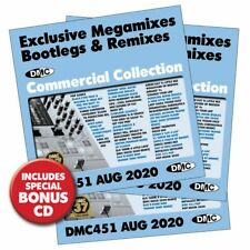 DMC, L@@K What's New; AUGUST ISSUE 451, 25 MIXES 3XCD's.
