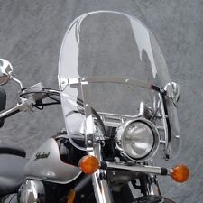 HARLEY FLS SOFTAIL SLIM 2012-2017 NC BEADED CLEAR HEAVY DUTY. WINDSHIELD N2230
