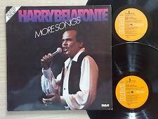HARRY BELAFONTE – MORE SONGS – 2 LP 33 GIRI GATEFOLD GERMANY