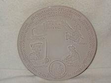 Frankoma Pottery Bi-Centennial Celebration Plate- Patriots-Leaders- 1973- USA