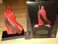 GENTLE GIANT, STAR WARS STATUE ROYAL GUARD #3,067 OF 3,500 WITH CERT. & BOX