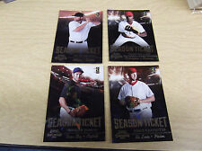 2011 PLAYOFF CONTENDERS BB #25 JOHNNY DAMON MACH #110/299 PARALLEL