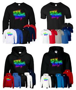 Spy Ninja CWC T Shirt Youtuber Kids Hoody Gaming Birthday Gift Mens Sweatshirt