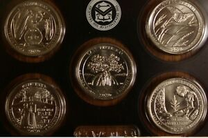 2020 W Complete 5 Quarter Set - Hard to Find - West Point Mint