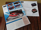 TRAX BROCHURE OPAL SERIES 1972 FORD XA GT RED PEPPER AS NEW CONDITION