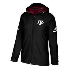 Texas A&M Aggies NCAA Adidas Women's ClimaWarm Black Game Built Rain Jacket