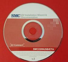 Driver Disc SMC Networks EZ Installation Wizard & Documentation SMC2209USB/ETH