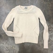 Sonia Rykiel Chunky Knit Sweater Cream Popcorn Wool  Moda Operandi S