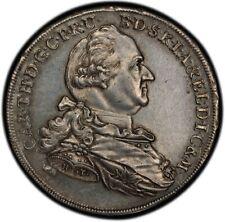 German States Bavaria Karl Theodor Taler 1778 Superbe PCGS AU58