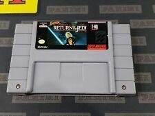 Super Nintendo SNES Video Game: Super Star Wars Return of the Jedi