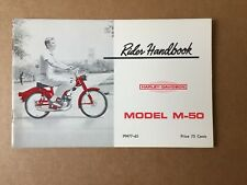 AERMACCHI HARLEY AMF NOS 1965 M-50 OWNERS MANUAL 99477-65