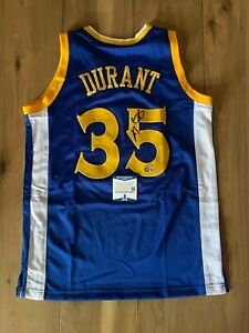 Kevin Durant Signed Autographed Jersey COA BAS Beckett #BA09283