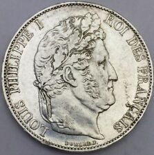 Piece 5 francs Louis Philippe 1847 A argent #314