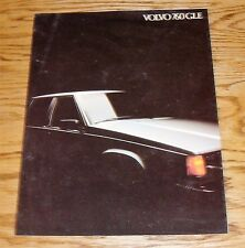 Original 1983 Volvo 760 GLE Foldout Sales Brochure 83